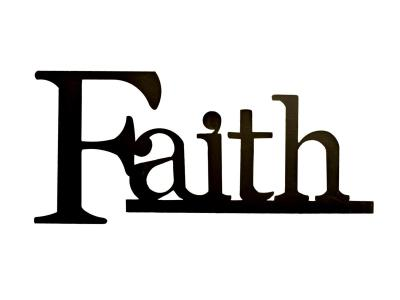 "Faith is the work God requires, and it doesn't ""earn"" us anything"
